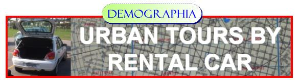 Urban Tours by Rental Car